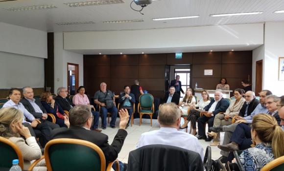 Reunião ampliada discute conjuntura da Previdência